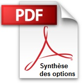 Synthèse des options de 2011-2012